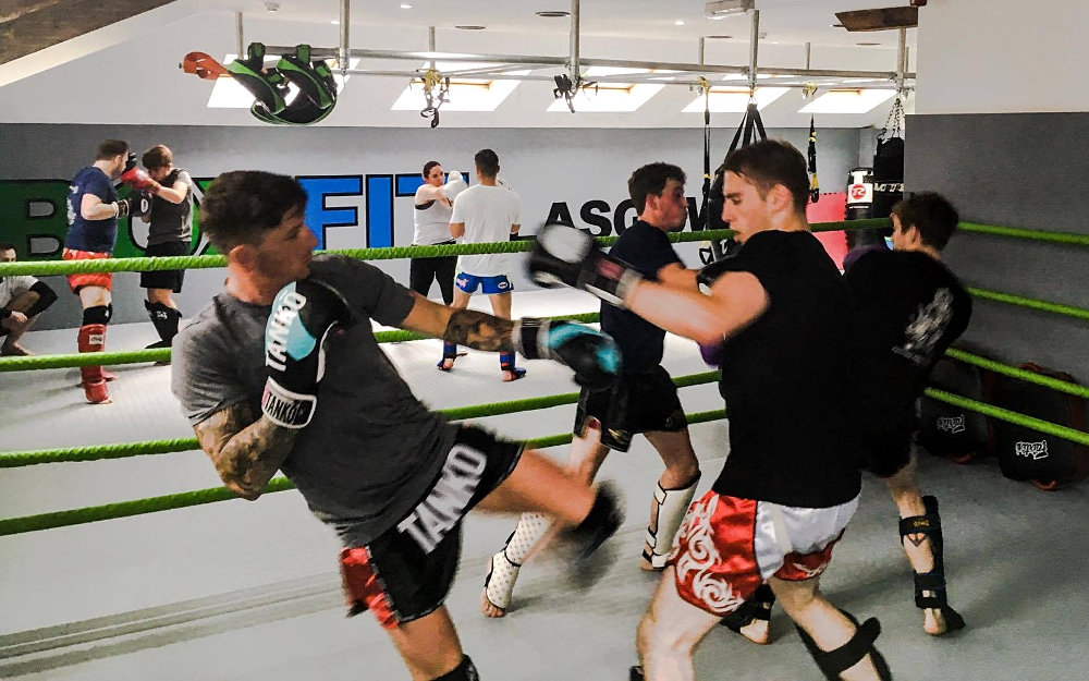 Muay Thai training classes in Glasgow City Centre for beginners to fighter level